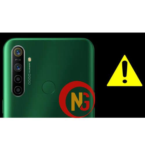 Camera Realme 5, 5 Pro gặp sự cố