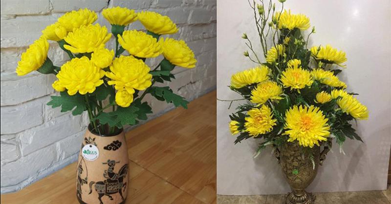 Chọn hoa Cúc Vàng cúng khai trương tượng trưng cho một bước ngoặt