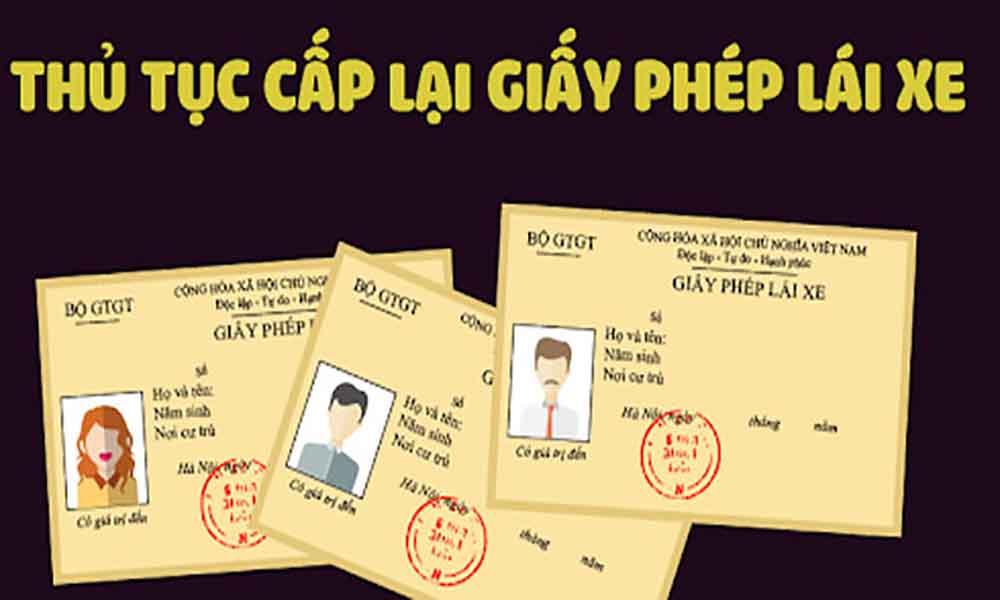 Hồ sơ xin cấp lại GPLX bị mất