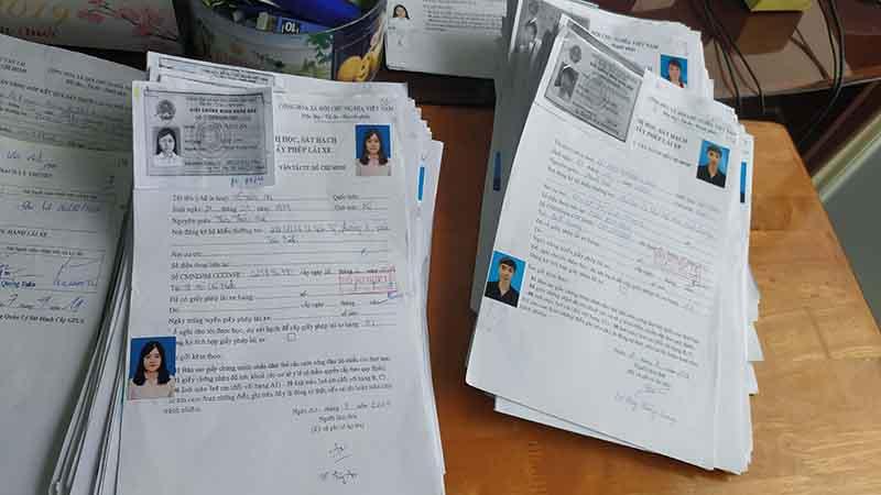 Hồ sơ xin cấp lại hồ sơ gốc GPLX