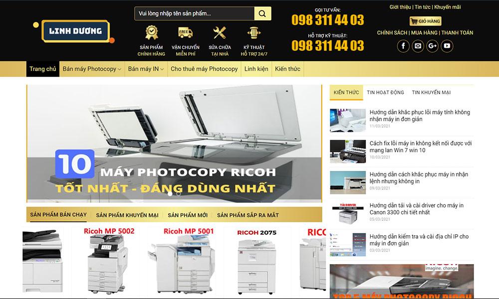 Linh Dương là đơn vị cung cấp máy photocopy Ricoh với mức giá tốt nhất