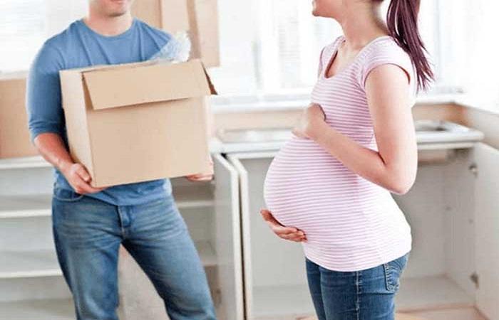 Phụ nữ mang thai không nên chuyển nhà